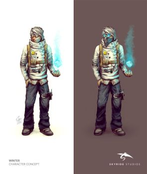 Winter Character Concept by slipled