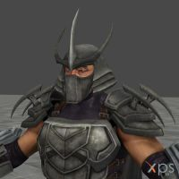 TMNT The Shredder Helmet by DatKofGuy
