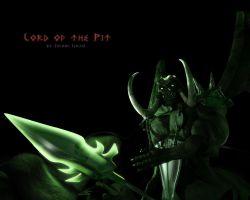Lord of the Pit - 1280x1024 by sijp