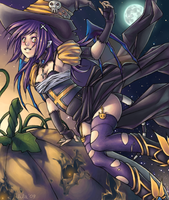 Halloween Witch by Lilami
