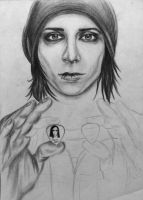 Ricky 'Horror' Olson of Motionless In White WIP by KatarinaAutumn