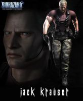Jack Krauser RE OJ by Claire-Wesker1