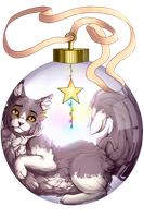 .:=GIFT=:. Crowpaw by Akeyna