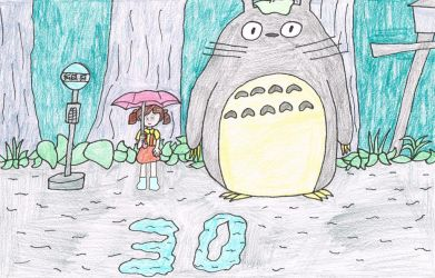 30 Years of My Neighbor Totoro by thecrazyworldofjack