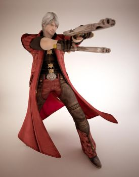 Devil May Cry : Dante by TiagoTavares