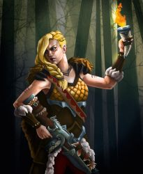 Tyra by Art-of-CML