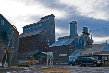 General Feed and Grain, Bonner's Ferry, Idaho, USA by quintmckown