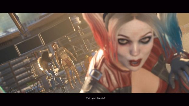 Your Alright, Blondie by PhantomEvil