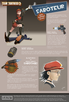 Team Fortress 2 - Saboteur by deadinsane