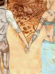 Traces : hold my hand by K-naille