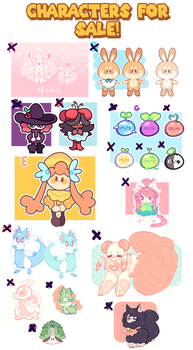 2 left! designs for sale! OPEN by blushbun