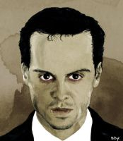Jim Moriarty by SerceZGazety