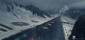 Artificial Glacier by Shue13