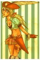 Pirate Girl by love-jam