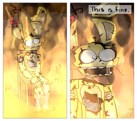 This Is Fine by zpyyx