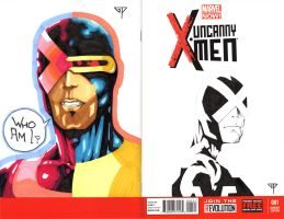 Cyclops Blank Cover by guillomcool