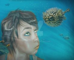 Just like a Blowfish by mshellee