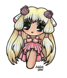 Chii from Chobits by SarahsPlushNStuff