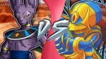 CFC|Beerus vs. Enerjak by Vex2001