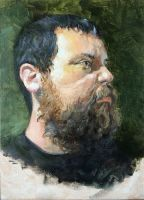 Self Portrait by i-am-mighty