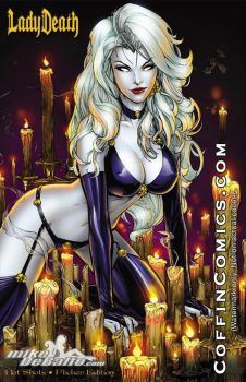 Lady Death - Hot Shots by SquirrelShaver