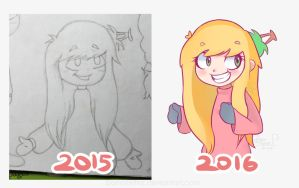 a redraw of Tamika by bonnieefire