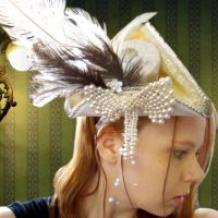 Pearl Victorian Tricorn Hat by SteamSociety