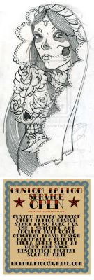 WIP MExican Skull Candy by OniBaka