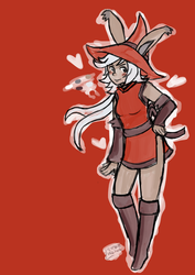 Red Mage by lilypadslulling