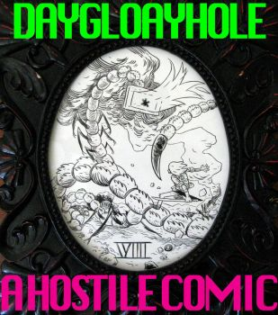 DAYGLOAYHOLE COVER by blackpassmore