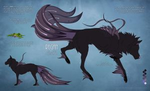Regan - Character reference sheet by Nereiix