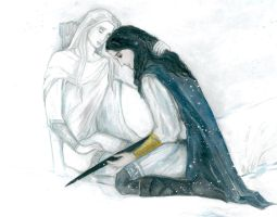 I will never leave you, son of Hurin (fragment). by Ephaistien