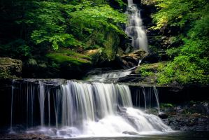 Waterfalls 7 by Earth-Divine