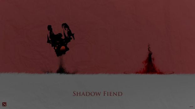 Shadow Fiend Dota 2 Wallpaper by css101