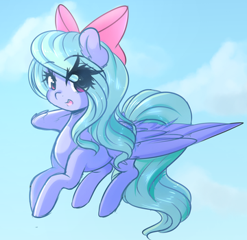 Flitter Doodle by FluffyMaiden