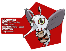 Quitomon by Midnitez-REMIX