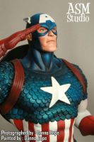Captain America - Painted 01 by ASM-studio