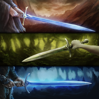 Blades of Gondolin by CorbinHunter