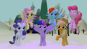 Twilight and Friends Winter by EDplus