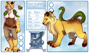 OfM Character Card by LindyLizards