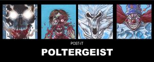 POST IT POLTERGEIST by QuinteroART