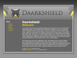 Daarkshield website concept by FutureMillennium