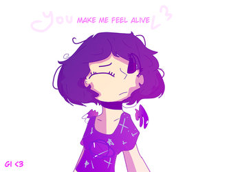 you make me feel alive by anagiovanna