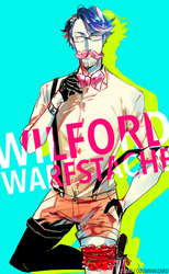 Sir Wilford Warfstache by Ozumii