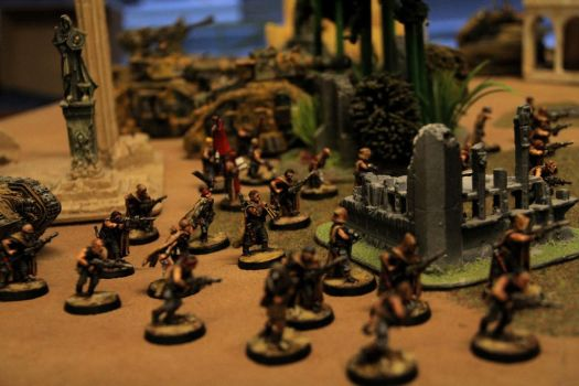 Alliances 3, Vokes Nomads infantry by Master-of-Onion