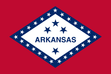 Flag of Arkasnas - Bravura USA by LNucleus