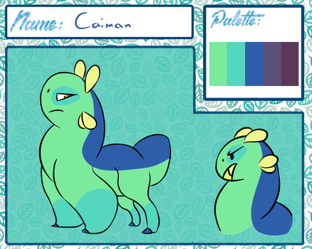 Caiman by Gay-Seagulls