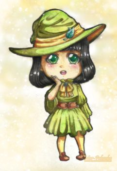 [De Brujas y Magia] Watercolor Emily by Mar-Palomba