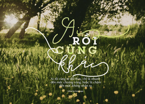 [14.09.2017] TYPOGRAPHY - Ai Roi Cung Khac by SatohYuuDA