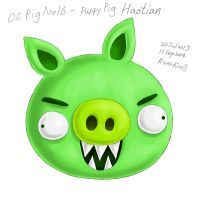 OC Pig No.16 - Puppy Pig Haotian by RiverKpocc